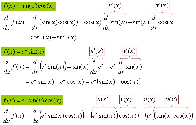Derivative Calculator And Differentiation Rules And Examples